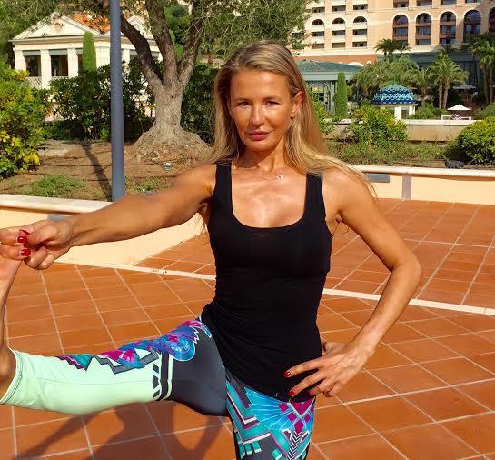 Karine Tibau Yoga Monte Carlo